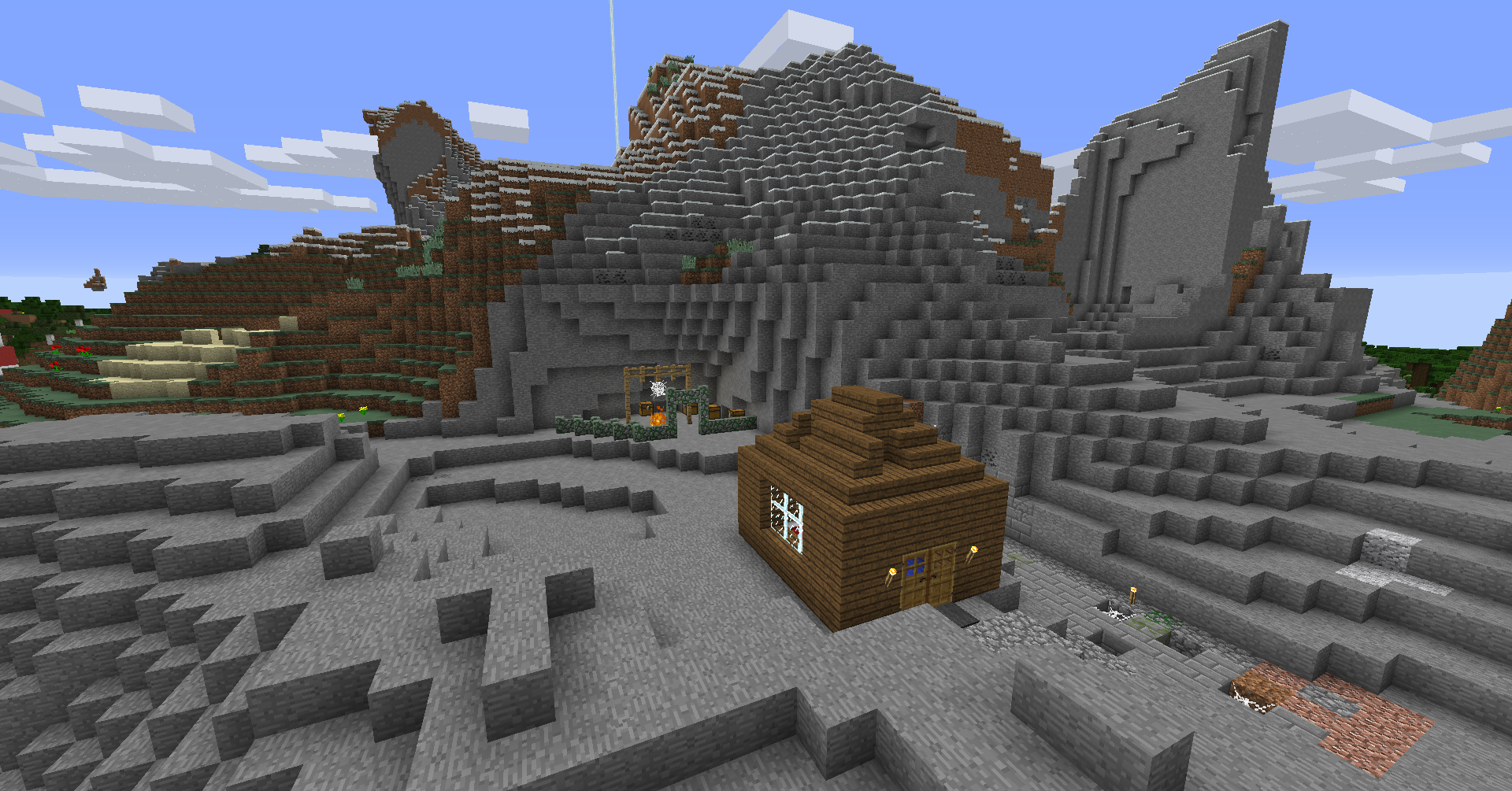 The new vanilla minecraft hunger games map maps for Mine craft hunger games